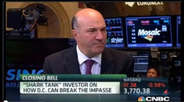 Kevin O'Leary on CNBC's 'The Closing Bell'