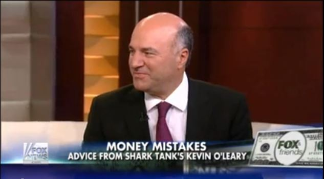 Kevin O'Leary on Fox and Friends
